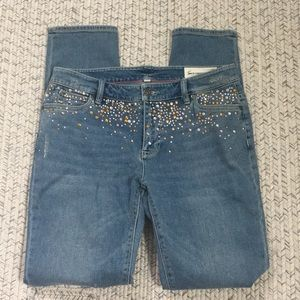 NWOT Two by Vince Camuto bedazzled 29 jeans